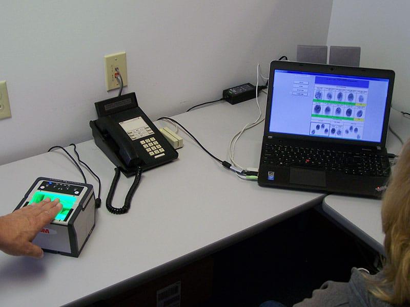 finger printing system
