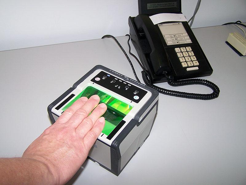 fingerprinting scanner